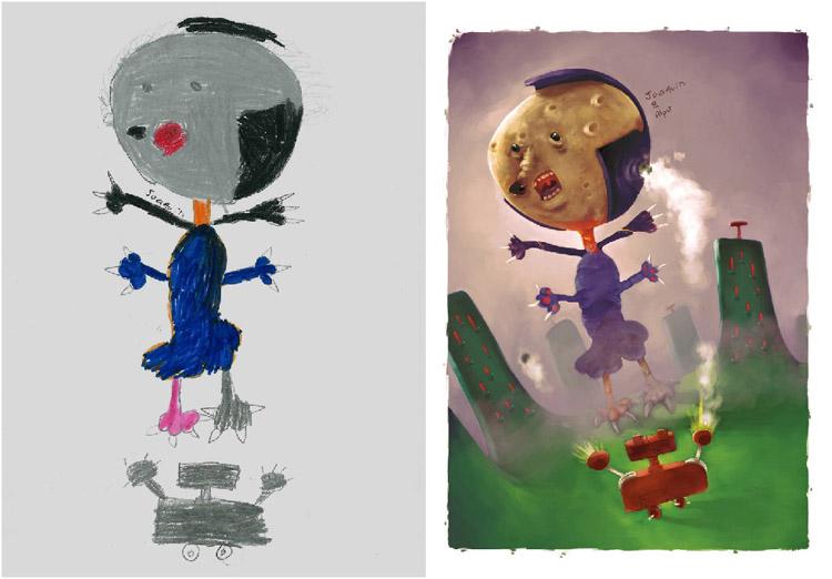 Monsters-by-Kids-Alper-Ozgün-Yesil