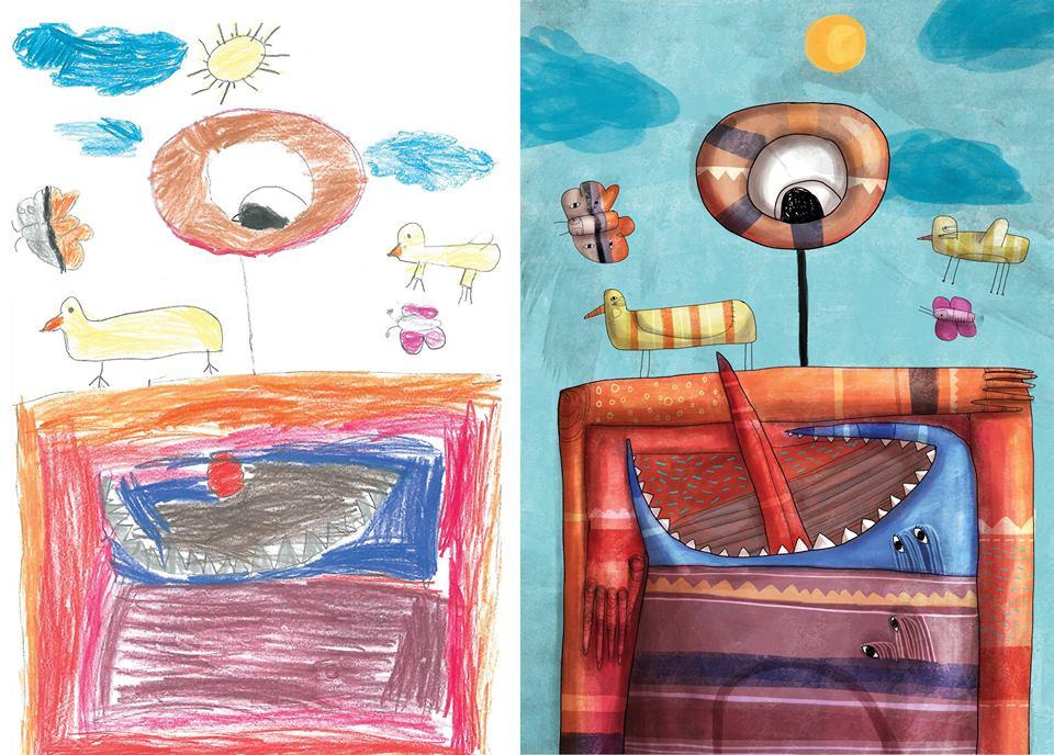 Monsters-by-Kids-Mert-Tugen