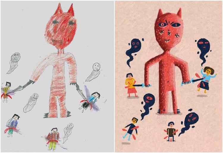 Monsters-by-Kids-Murat-Kalkavan