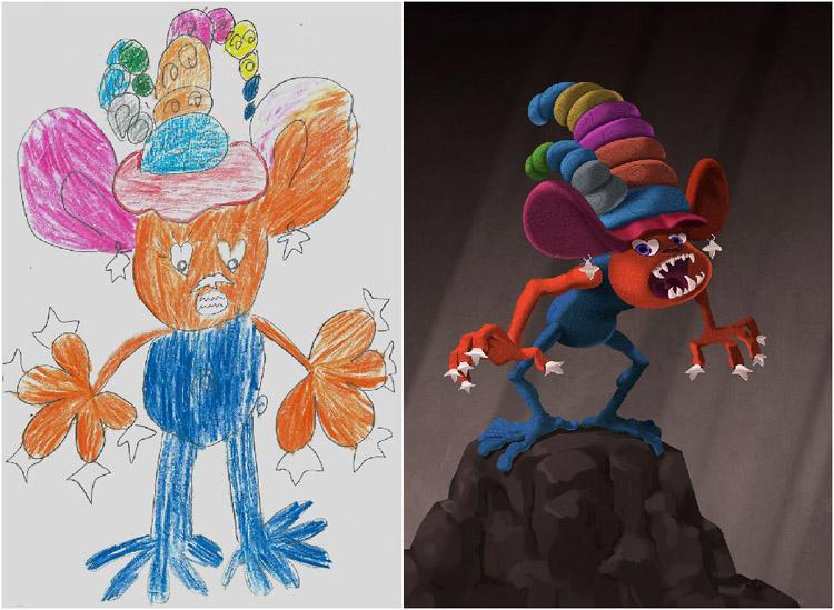 Monsters-by-Kids-Murat-Turan
