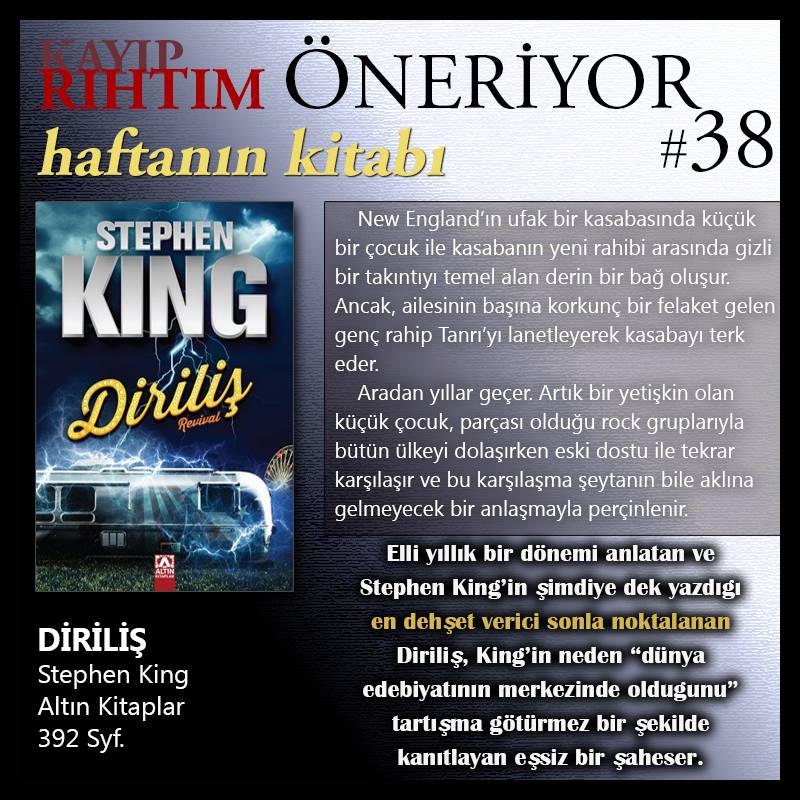 haftanin kitabi king dirilis