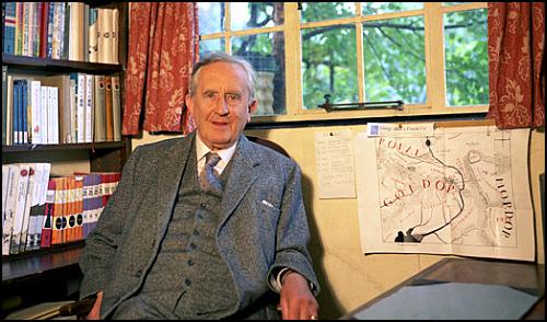 Tolkien'in Notlarını İçeren Orta Dünya Haritası, Bodleian Kütüphanesi'nin Koleksiyonunda