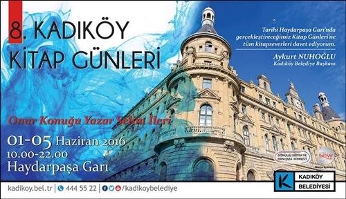 Kadıköy Kitap Günleri'nin 8.'si Haydarpaşa Garı'nda Başlıyor!