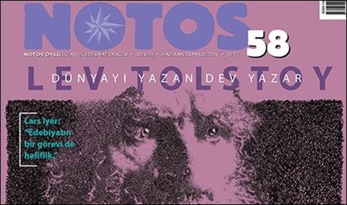 Notos'un 58. Sayısında Tolstoy Var!