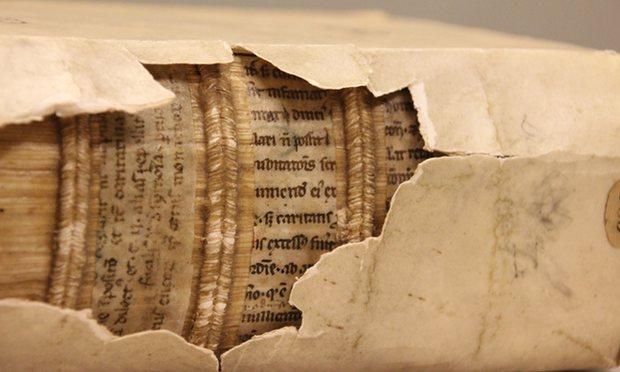 kitap ciltlerindeki orta çağ el yazmaları