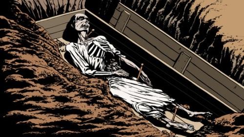 Polonya'da Gerçek Vampir Mezarları Bulundu