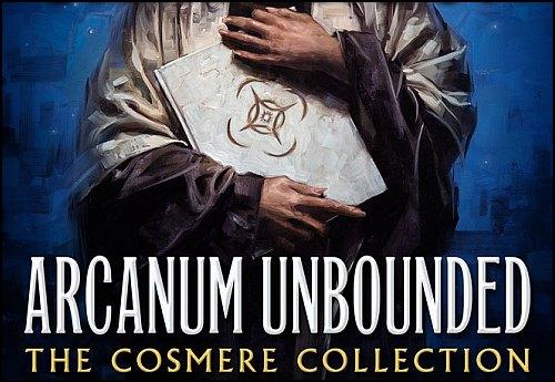 Brandon Sanderson'dan Yeni Öykü Kitabı: Arcanum Unbounded