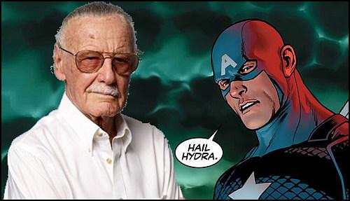 """Stan Lee, """"Nazi Captain America"""" Fikrine Sıcak Bakıyor"""
