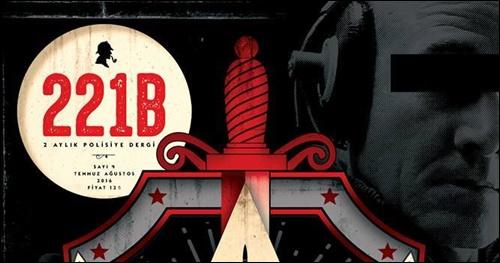 Yerli Polisiye Dergisi 221B'nin Yeni Sayısı Çıktı!*