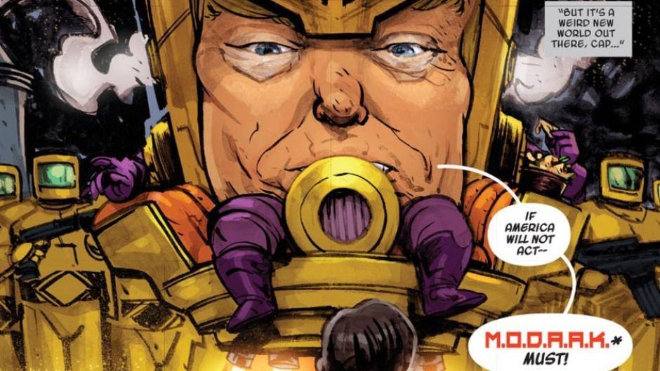 Karşınızda Marvel'ın Yeni Süper Kötüsü: Donald Trump
