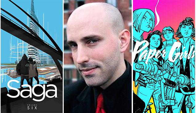 Ela Gözlerin Ardında:  Saga'nın Yazarı Brian K. Vaughan'la Söyleşi