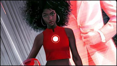 Iron Man Artık Siyahi Bir Kadın