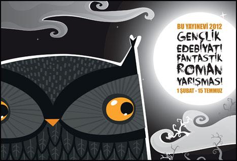 BU Yayınevi'nden 2012 Gençlik Edebiyatı Fantastik Roman Yarışması!