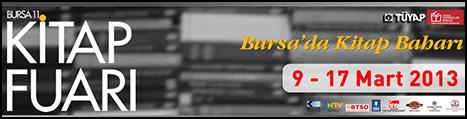 Bursa 11. Kitap Fuarı Açılıyor