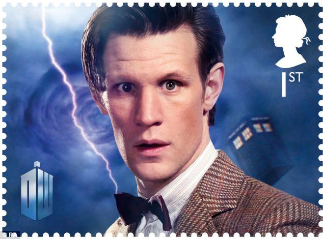 Doctor Who'nun 50. Yıl Dönümüne Özel Pul Seti