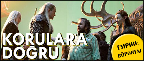 """Empire """"Hobbit: Smaug'un Viranesi"""" Röportajı Türkçe Olarak Yayında"""