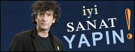 """Neil Gaiman'ın """"İyi Sanat Yapın"""" Konuşması Türkçede!"""