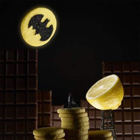 Limonlu Batman ve Yemeklerden Sahneler Yaratmak