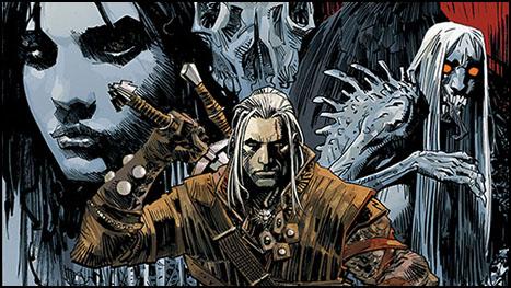Witcher Şimdi de Çizgi Roman Oluyor