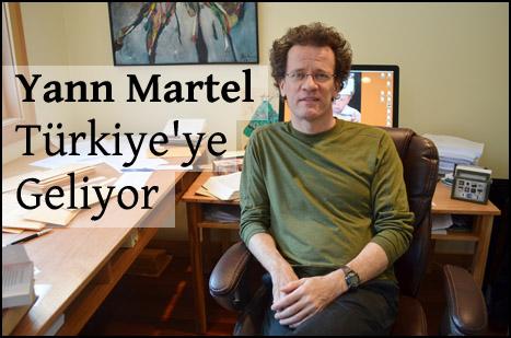 Yann Martel Türkiye'ye Geliyor